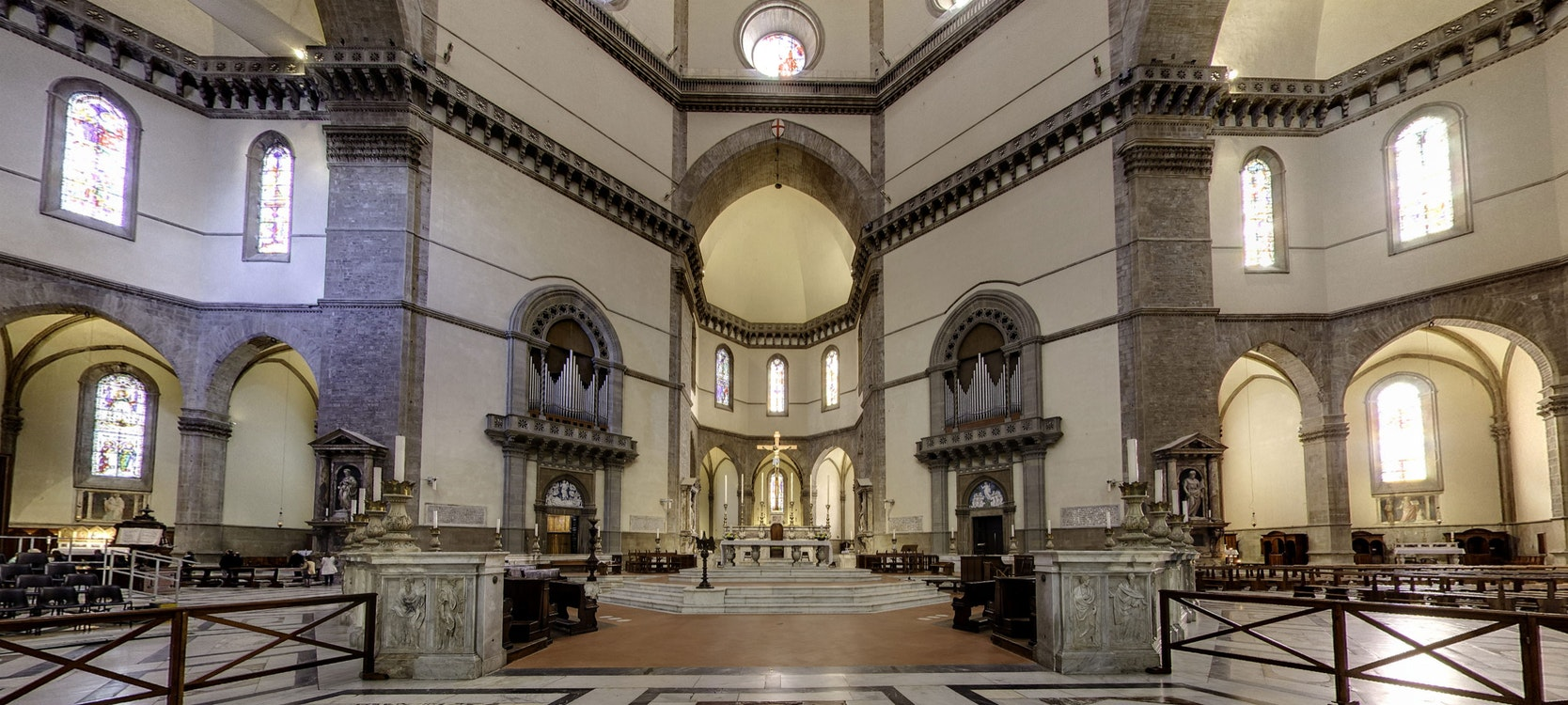 an analysis of the duomo of florence cathedral church Florence cathedral, formally the cattedrale di santa maria del fiore (italian pronunciation: [katteˈdraːle di ˈsanta maˈriːa del ˈfjoːre] in english cathedral of saint mary of the flower), is the cathedral of florence, italy (italian: duomo di firenze.