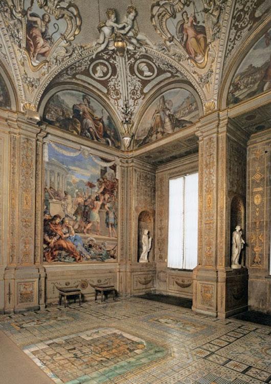 La galleria palatina al palazzo pitti con gli appartamenti for Palazzo pitti orari
