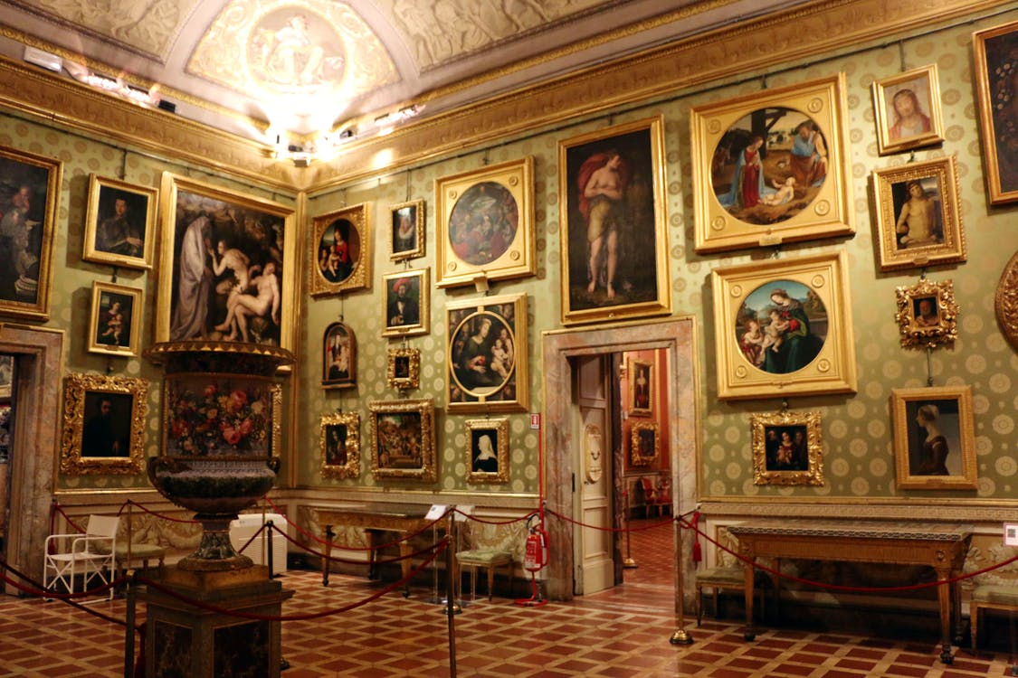 Pitti palace museums boboli gardens silver museum for Artistic cuisine palatine