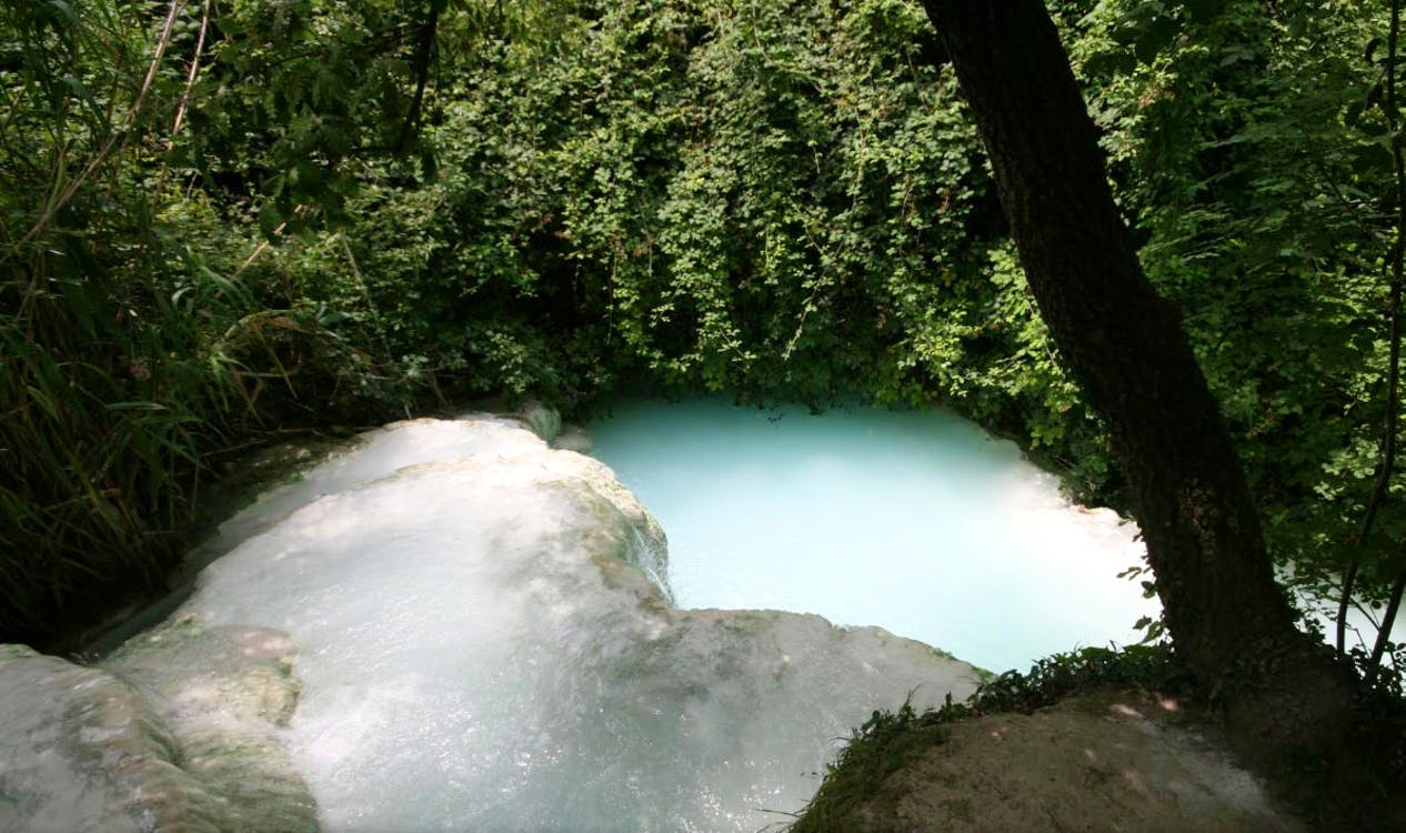 Hot Springs In Tuscany Enjoy Natural Hot Springs Outdoors