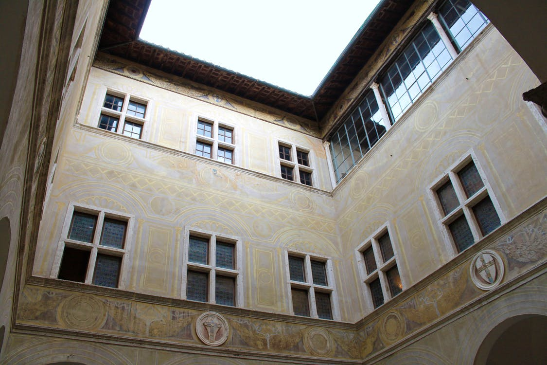 Papal Apartments Floor Plan Palazzo Piccolomini In Pienza Visit The Summer Palace